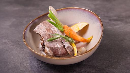 Ribs de bœuf Charolais affiné, coco et Cédrat