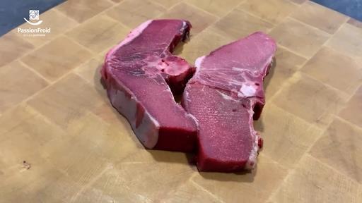 Côtes doubles de sanglier avec os 190 g env. Chasseurs de France
